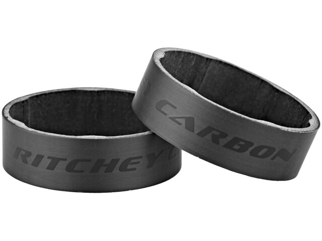 "Ritchey WCS Spacer Carbon 1 1/8"" 10mm 2 Stück matte UD"